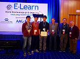 E-Learn2017でOutstanding Poster Award受賞